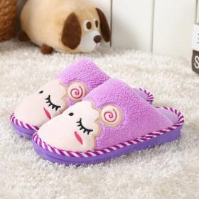 包跟棉拖鞋情侣居家居防滑厚底室内冬天可爱月子保暖毛