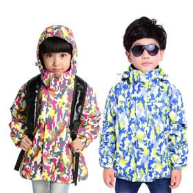 儿童冲锋衣男童女童两件套三合一防寒服外套童装冬季