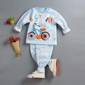 秋冬款儿童保暖内衣牛奶丝 中小童秋衣秋裤加绒加厚
