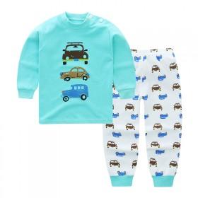 儿童纯棉秋衣秋裤套装男女童内衣内裤1-5岁宝宝睡衣