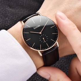手表男男士手表潮流品防水石英表简约休闲时尚学生
