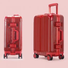 防刮铝框行李箱旅行箱20拉杆箱22寸24寸26寸