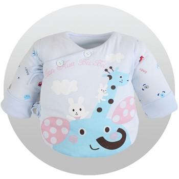 新生儿衣服半背满月宝宝婴儿棉袄上衣纯棉和尚服