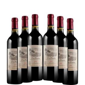 6支装【亏本冲量】法国原瓶进口小拉菲干红酒