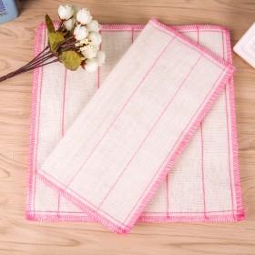 20条装5层8层白洁布洗碗布不沾油不起球清洁棉纱