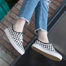 韩国ulzzang帆布鞋明星同款百搭情侣学生滑板鞋