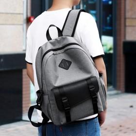 双肩包韩版初中学生书包时尚潮流百搭男士旅行电脑背包