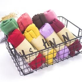 春秋冬季围巾韩国防晒丝巾沙滩巾纯色棉麻长款2785