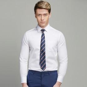 长袖衬衫男士衬衣衬衫男长袖职业上班工作男装上衣