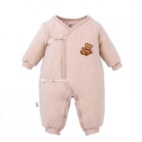 婴儿冬装新生儿衣服冬季连体衣男女宝宝纯棉加厚棉衣