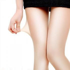 性感防勾丝超薄款弹力丝袜纯色一体连袜裤11478