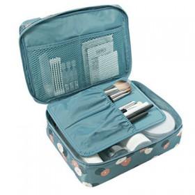 多功能防水旅行便携式收纳包小号手提双层女化妆包旅游