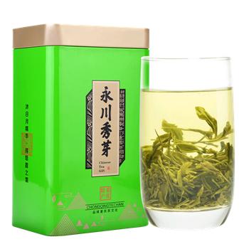 永川秀芽 绿茶 特级 重庆特产 茶叶2017新茶