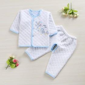 纯棉婴儿秋冬季保暖内衣套装