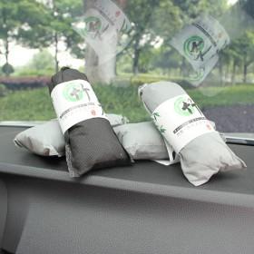汽车用除味除甲醛竹炭包新车炭包活性炭车内吸附去异味