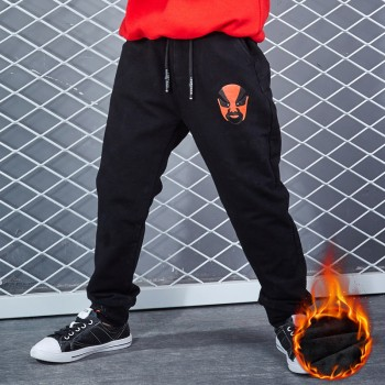 贝梵琪男童加绒加厚运动裤
