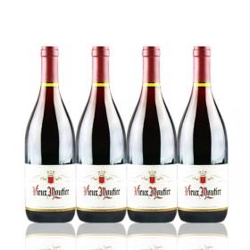 法国红酒波尔多原瓶进口干红葡萄酒四支装