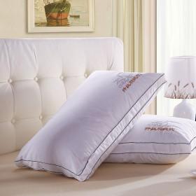 枕头枕芯一只装成人全棉单人水洗枕宾馆五星级酒店枕头