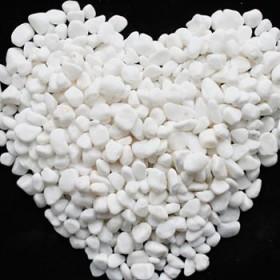 5斤白色小子庭院阳台铺地彩色鹅卵石规格齐全