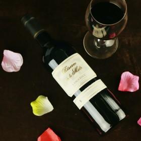 法国红酒原瓶进口30年老藤AOP珍藏干红葡萄酒