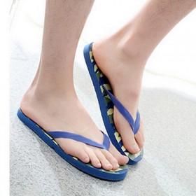 新款热销舒适休闲男式凉鞋夹防滑耐磨脚男士人字凉拖鞋