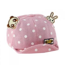 春季新款软帽檐鸭舌帽男女宝宝帽子遮阳帽0-1岁