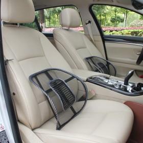 汽车用品夏季腰靠竹片坐垫透气网状腰靠办公家用靠垫