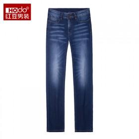红豆/海澜之家国际品牌男士牛仔裤春季休闲裤/162