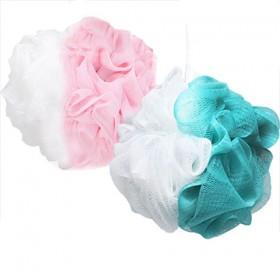 【2个70克】大号洗澡球沐浴球泡泡球搓澡巾泡沫浴球