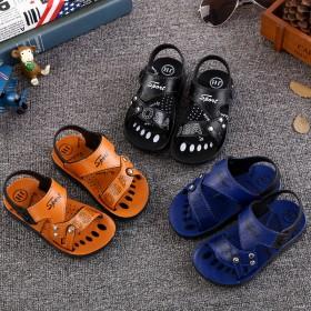 儿童凉鞋软塑胶男童凉鞋潮中童小童婴儿沙滩鞋