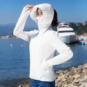 UPF40专业防晒衣女薄款百搭外套长袖防晒服皮肤衣