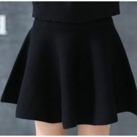 针织大摆裙 短裙 半身裙 太阳裙 高品质