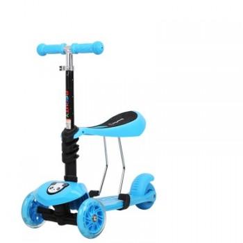 滑板车儿童3四轮1-2-3-6岁小孩宝宝初学者可坐