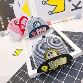 儿童帽子夏季薄款鸭舌帽潮男女宝1-3岁户外遮阳棒球