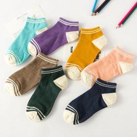 50款可选 日系袜子女春夏季纯棉学院风复古薄款短袜
