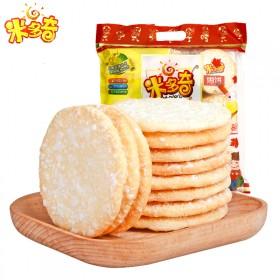 米多奇雪饼89g x4袋大米制品饼干雪米饼儿童休闲