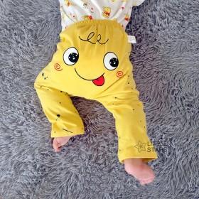 婴儿大PP裤长裤子春夏男女童宝宝纯棉大屁屁裤