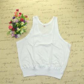 夏季中老年女士背心妈妈加肥加大纯棉背心汗衫