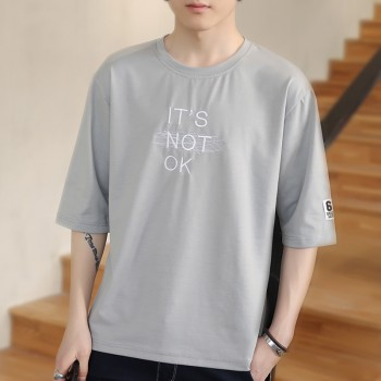 男士t恤ulzzang短袖