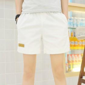 夏季薄款日系纯色棉质裤衩男士三分裤休闲运动短裤宽松
