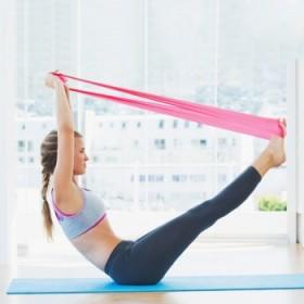 瑜伽拉力带拉丁舞腿部训练塑形弹力带