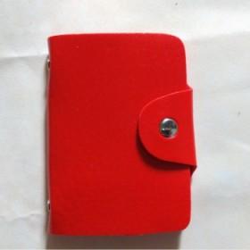 女士男士同款纯色卡包身份证件PU卡包名片14838