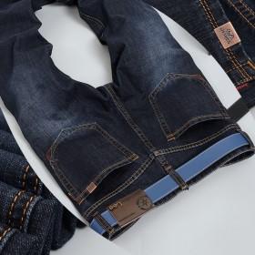 休闲青年男装中腰修身直筒大码男长裤
