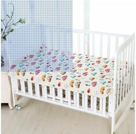 纯棉婴儿隔尿垫宝宝中号防水可洗吸尿姨妈月经垫