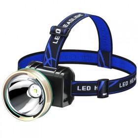 LED灯头戴式灯强光充电手电筒超亮远射3000W