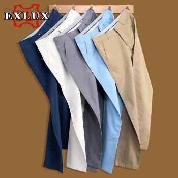 夏季薄款男士休闲裤,修身直筒裤子