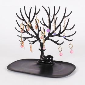 鹿角树形创意项链首饰展示架耳环手镯手链饰品收纳挂架