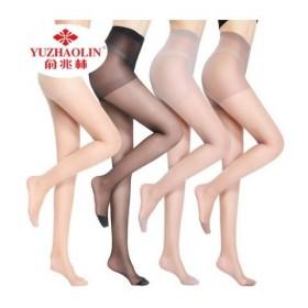 夏季超薄款透明黑丝袜防勾丝打底连裤袜子