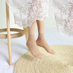 10双装夏女士短袜钢丝袜