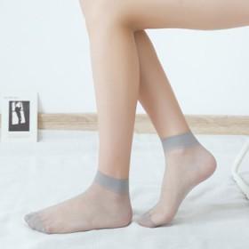 夏季水晶丝一双散装袜子短款丝袜超薄隐形袜2635